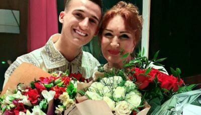 """Gabriel Nebunu i-a dedicat un mesaj emoționant interpretei Zinaida Julea: ,,Când eram mic, îmi tresărea inima din loc…"""""""