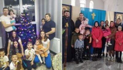 Cei șase copii din Răscăieți, care au rămas fără ambii părinți, au fost adoptați de către doi soți din Chișinău