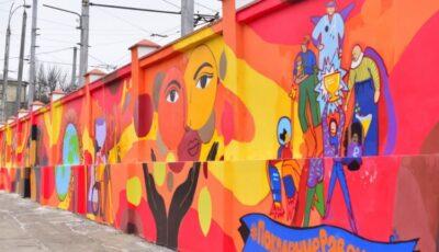 În Chișinău a apărut o nouă pictură murală