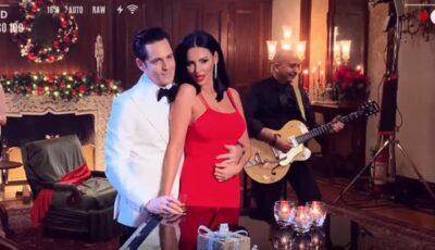 Video! Ștefan Bănică și Lavinia Pîrva, împreună în noul videoclip de Crăciun