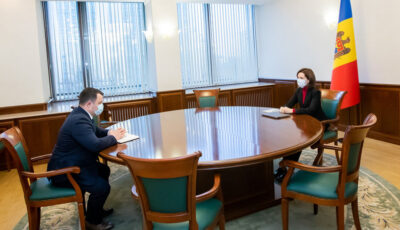 Cine e primul șef chemat la Președinție de Maia Sandu