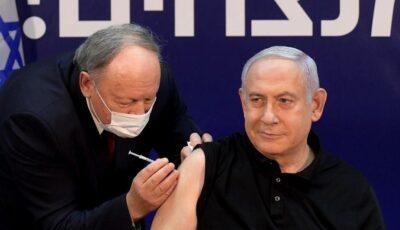 Premierul Israelului Beniamin Netanyahu, vaccinat contra Covid-19 de către medicul său român
