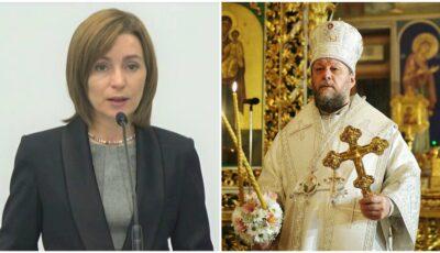 Maia Sandu a avut o întâlnire cu Înalt Preasfinţitul Vladimir