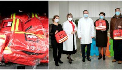 Unicef a oferit truse speciale pentru asistentele medicale din două raioane