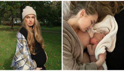 Și-a văzut visul împlinit! Celebrul model a devenit mamă, după 7 ani în care nu a avut ciclu menstrual
