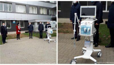 Germania a donat Moldovei opt echipamente de ventilare pulmonară