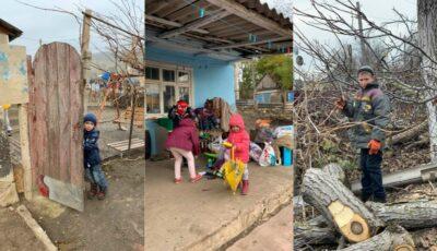Sute de copii din Moldova îndură frig și foame! Pentru ei, tu poți fi Moș Crăciun