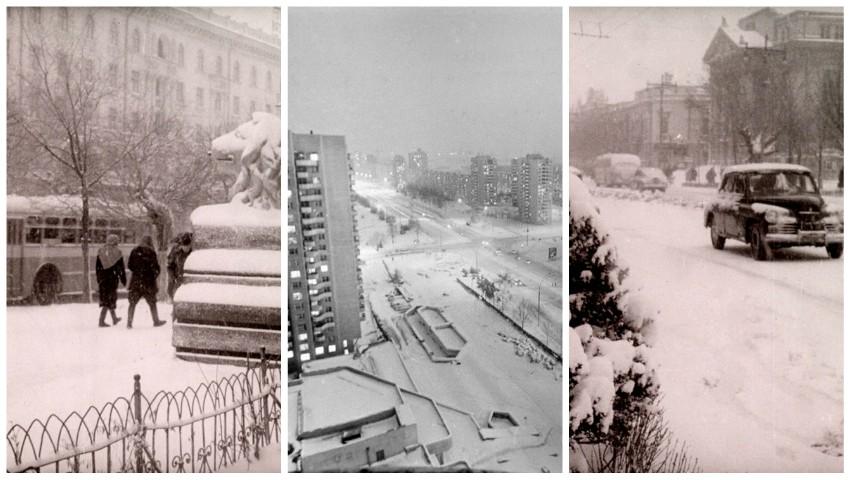 Foto: Foto. Iarna în Chișinău, acum 50 de ani. O colecție de poze rare publicate de Agenția Națională a Arhivelor