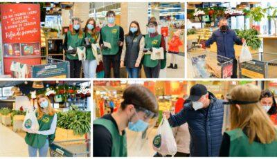 Săptămâna națională de prevenire a risipei de alimente: sute de oameni au răspuns îndemnului și au donat produse pentru cei nevoiași!