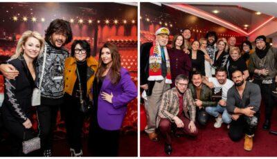 Natalia Gordienko, alături de Filip Kirkorov, Jasmin și alte vedete din showbiz-ul rusesc. Cum a fost surprinsă artista?