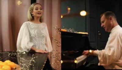 Tatiana Martin și Aurel Chirtoacă au lansat un minunat Colind de Crăciun!