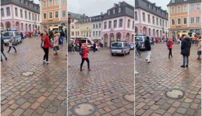 Cel puțin doi morţi şi 10 răniți în Germania, după ce o mașină a intrat cu viteză mare în pietoni