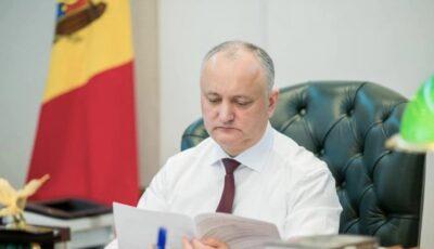 Igor Dodon: Dacă rămâneam președinte, în câteva săptămâni începea vaccinarea anti-Covid