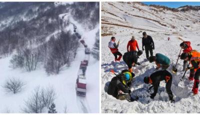 Operațiune dramatică de salvare. Cel puțin 10 alpiniști, morți într-o serie de avalanșe în Iran