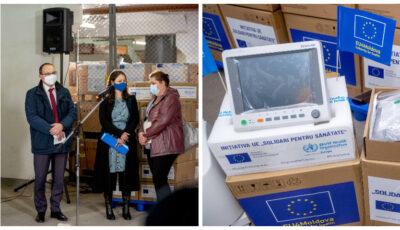 Echipamente medicale în valoare de circa 1 milion de euro, donate Moldovei de către UE și OMS