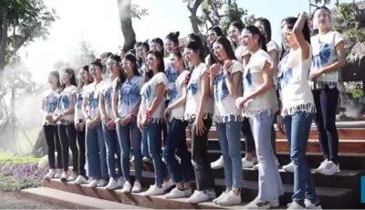 Ghinion la un concurs de Miss. 30 de fete au căzut în apă de pe un pod