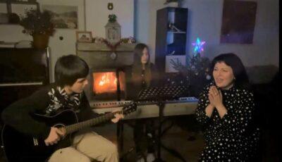 Video! Moment duios de Crăciun în familia Getei Burlacu