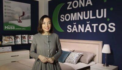 """Galina Tomaș: """"Investește în sănătatea ta – investește în saltea!"""""""