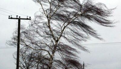 Se anunță Cod galben de vânt puternic în toată țara. Iată când va intra în vigoare avertizarea!
