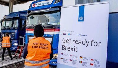 Șoferilor de TIR care intră în UE din Marea Britanie li se confiscă sandvișurile și pachetele cu mâncare