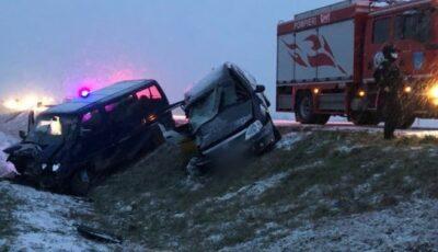 Încă o victimă în urma accidentului de la Hâncești: șoferul mașinii Dacia, de 34 de ani, a murit pe patul de spital