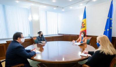 Maia Sandu a avut o întrevedere cu Peter Michalko, Ambasadorul Uniunii Europene în Republica Moldova