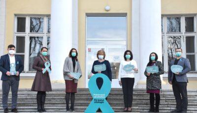 Peste 4.000 de moldovence suferă de cancer al colului uterin. Fă testul citologic, ai grijă de sănătatea ta!