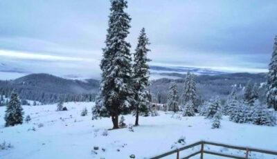 Ninge în Moldova! Localitățile în care se aștern fulgi de nea! Foto