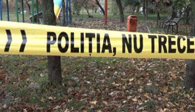 Cadavrul unui nou-născut, găsit într-un parc din Capitală