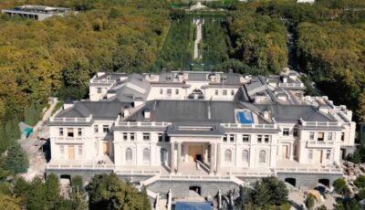 Un film cu unul dintre palatele care ar aparține lui Vladimir Putin a luat peste 1 milion de vizualizări într-o oră pe youtube