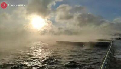 Fenomen spectaculos la Odessa deasupra Mării Negre