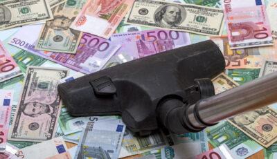 60.000 de euro, furați cu aspiratorul din seiful unui supermarket din Germania