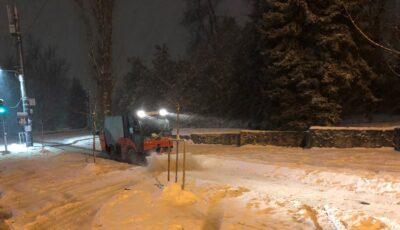 Ninge în Capitală! Primăria Chișinău: Membrii celulei de criză sunt întruniți