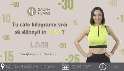 Păstrează-ți motivația alături de Centru Online de Nutriție și Sport www.galinatomas.com!