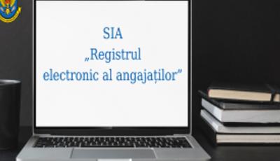 """Serviciul Fiscal de Stat a lansat platforma experimentală """"Registrul electronic al angajaților"""""""