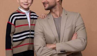Sergey Lazarev a împărtășit poze noi cu fiul și fiica sa și i-a încântat pe fani