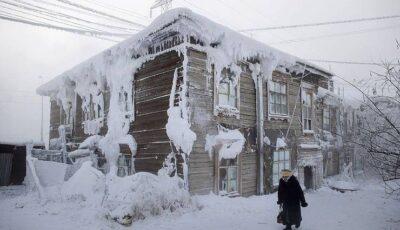 Elevii din orașul Iakutsk, trimişi acasă fiindcă temperatura a ajuns la -50 de grade Celsius
