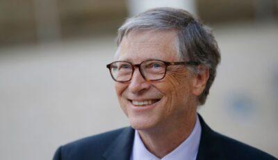 Miliardarul şi filantropul Bill Gates a primit prima doză de vaccin împotriva Covid-19