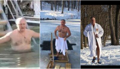 """Igor Dodon: ,,În fiecare an de Bobotează, obișnuiesc să fac baie în apa rece a unui lac"""""""