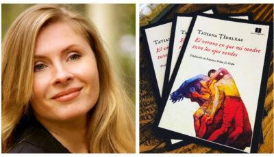 """Tatiana Țîbuleac, câștigătoarea unui important premiu european pentru ediția în limba spaniolă a romanului ,,Vara în care mama a avut ochii verzi"""""""