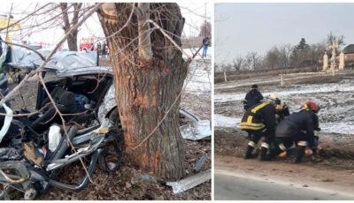 Accident grav în localitatea Copăceni din raionul Sângerei. Un mort și 2 răniți