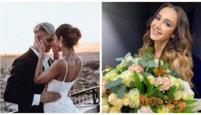Video! Cum a felicitat-o David Manukyan pe Olga Buzova de ziua ei