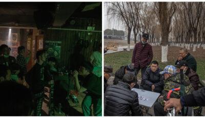 Foto! Viața în Wuhan, focarul primar de Covid, la un an după pandemie: Oamenii merg în baruri sau în parc fără măști