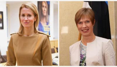 Estonia – una dintre țările lumii în care atât președintele cât și premierul sunt femei