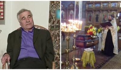 Regretatul jurnalist şi scriitor Efim Josanu, înmormântat în satul de baştină, Ciulucani, raionul Teleneşti
