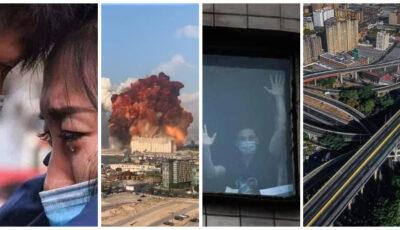 20 de poze care descriu anul 2020 și care ne-au marcat