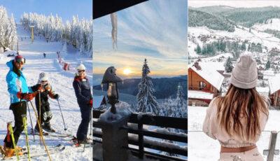 Crăciun, cu multă zăpadă! Vedetele care se răsfață la munte