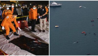 Resturi şi fragmente de corpuri, descoperite în zona unde s-ar fi prăbușit avionul dat dispărut în Indonezia