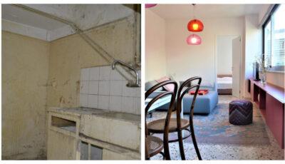O moldoveancă transformă locuințele vechi din Atena în apartamente de lux