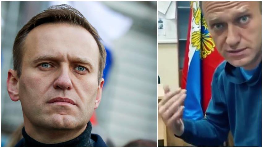 Foto: Alexei Navalnîi a fost plasat în arest pentru 30 de zile